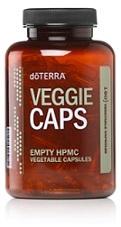 Veggie Caps (160 empty capsules) - doTERRA 0870