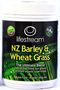 NZ Barley & Wheatgrass Blend - Lifestream 0999