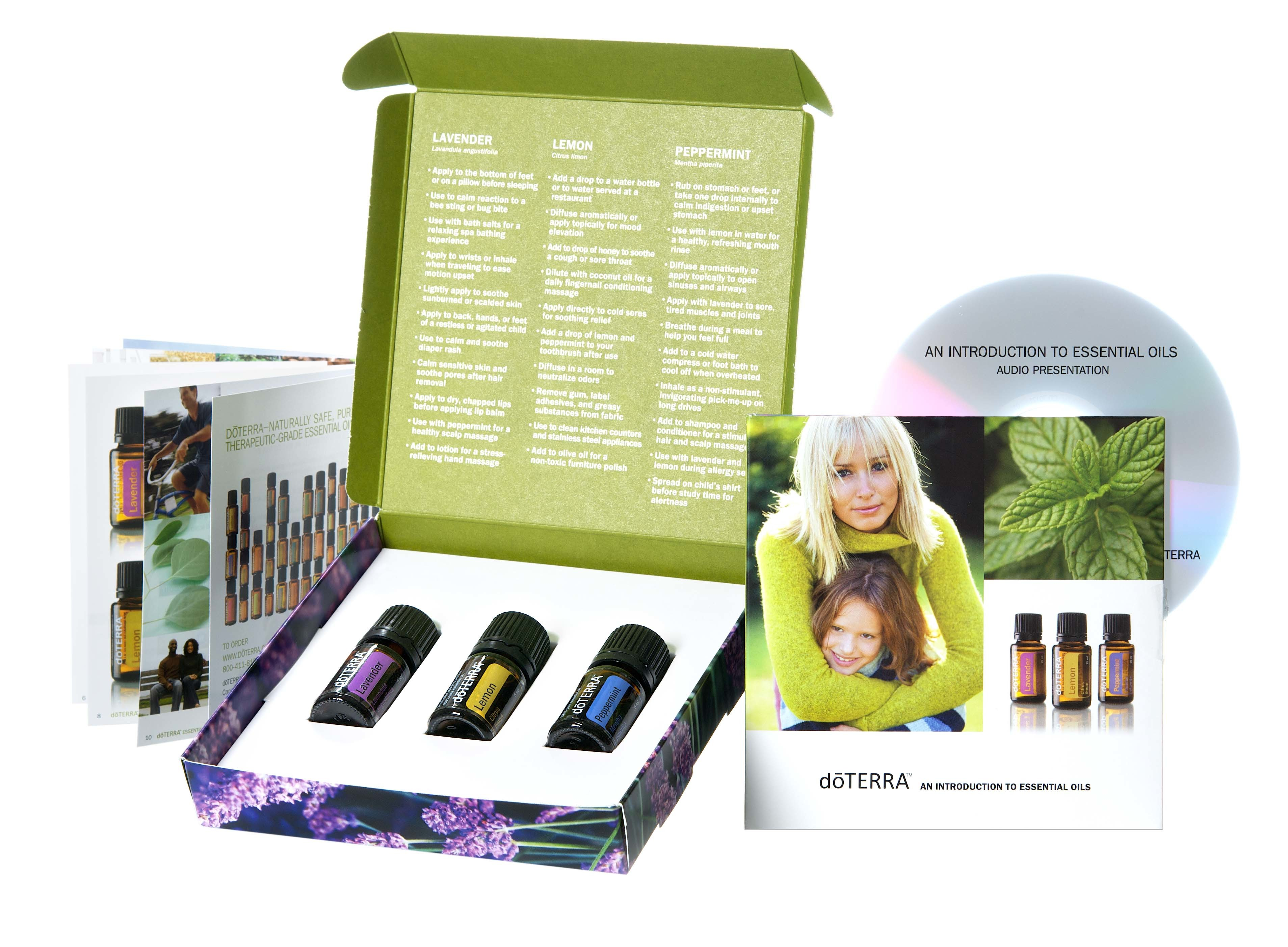 Introduction to Essential Oils Kit - doTERRA 0778
