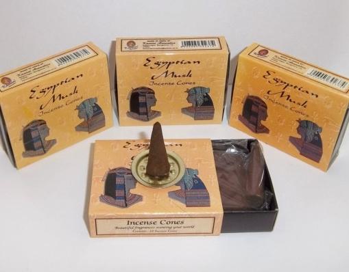 Egyptian Musk Incense (10 cones) - Kamini 0890EM
