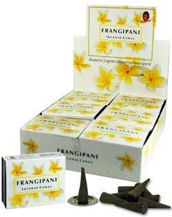 Frangipani Incense (10 cones) - Kamini 0890FG