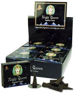 Night Queen Incense (10 cones) - Kamini