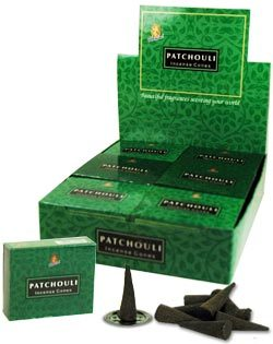 Patchouli Incense (10 cones) - Kamini