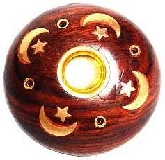 Wooden Baby Round Ashcatcher