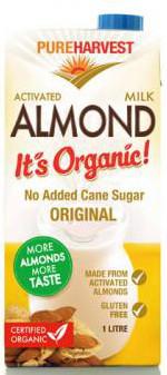 Organic Almond Milk (1L) - PureHarvest 0924