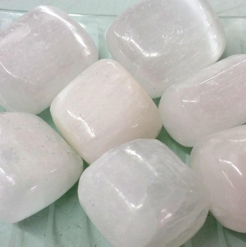 Selenite Tumbled Stone Crystal
