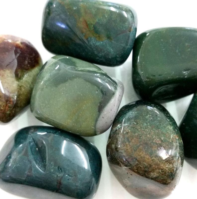 Bloodstone Tumbled Stone Crystal