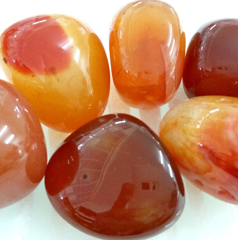 Carnelian Tumbled Stone Crystal
