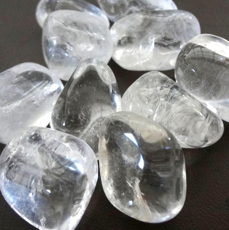 Clear Quartz Tumbled Stone Crystal