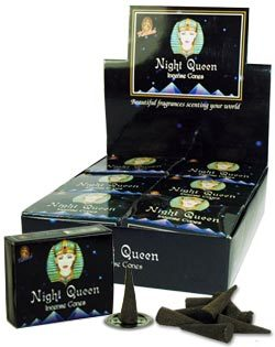 Night Queen Incense (10 cones) - Kamini