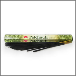 Patchouli Incense (20 Sticks) Hex Pack - HEM