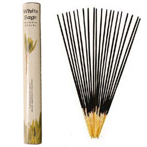 White Sage Incense (20 Sticks) Hex Pack - Kamini