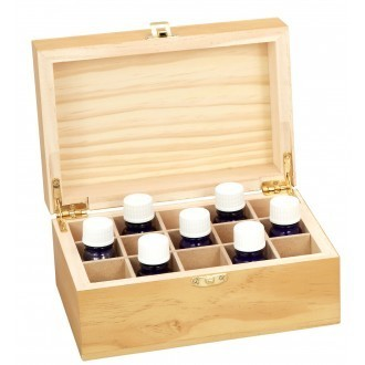 Wooden Essential Oil Box (15 bottles) - Aromamatic