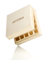 Wooden Essential Oil Box (25 bottles) - doTERRA