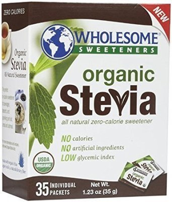 Organic Stevia (35x1g) sachets - Wholesome Sweeteners