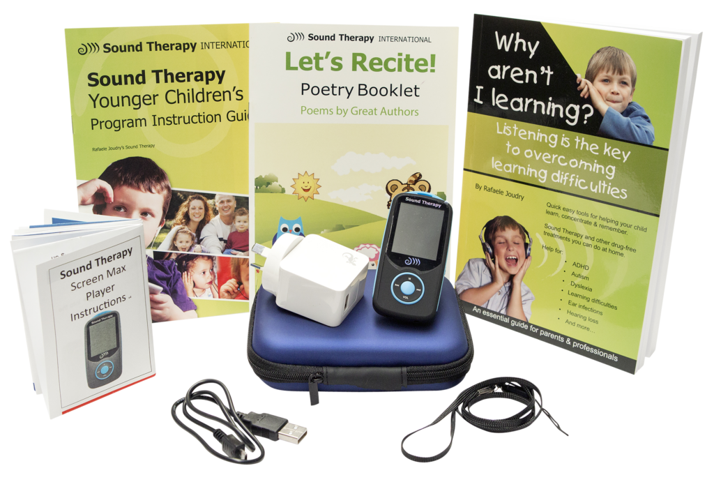 Sound Therapy Younger Children's Program (0 - 7 Years)