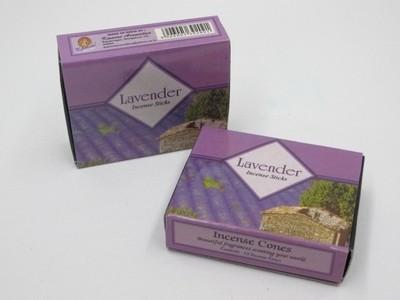 Lavender Incense (10 cones) - Kamini