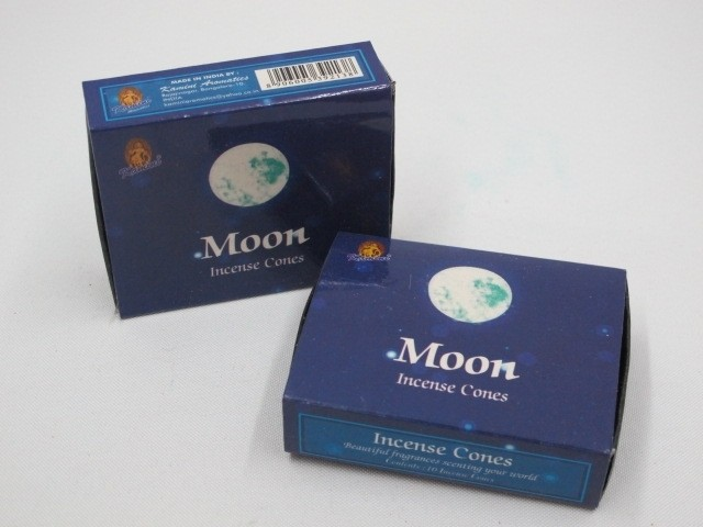 Moon Incense (10 cones) - Kamini