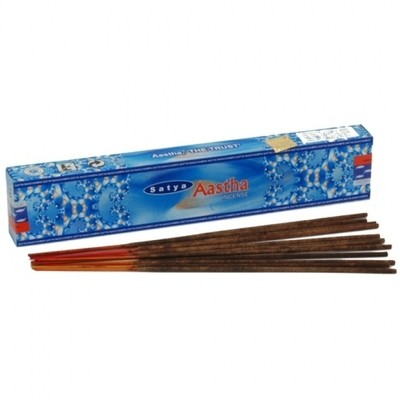 Aastha Incense (15 sticks) - Satya Sai Baba