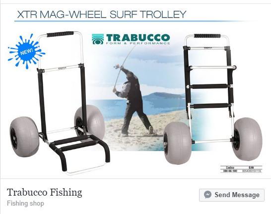 XTR MAG WHEEL SURF TROLLEY 00619