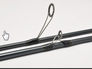 Finezza Ultralight single peice bass rods. perfect for Ultra light perch and pike fishing