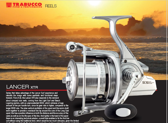 LANCER XLT 6500 AND 8000 ULTRA HIGH SPEED RETRIEVE LIGHT SURFCASTING REELS NEW 2019