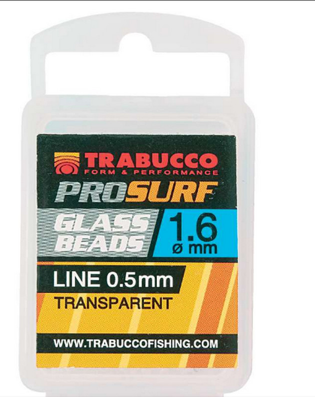Pro surf pure glass beads 1.5mm, 1,8mm , 1.6mm   100 per pack