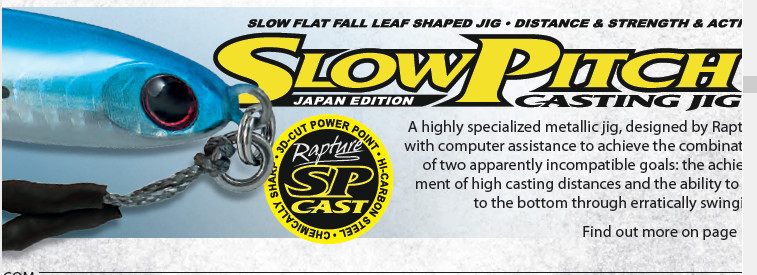 Deep Fall Slow Jigging Rods