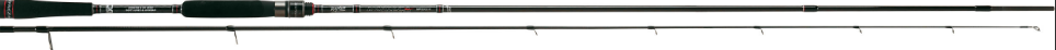 Impreza soft lure specialist rod for Bass Wrasse and Pike. 802M   5-30g  10-20lb braid  x fast