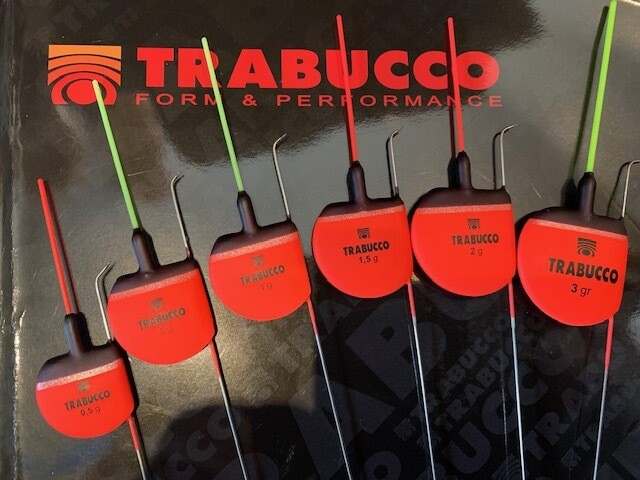 Trabucco Oracle Fishing Float for pole fishing in strong flows