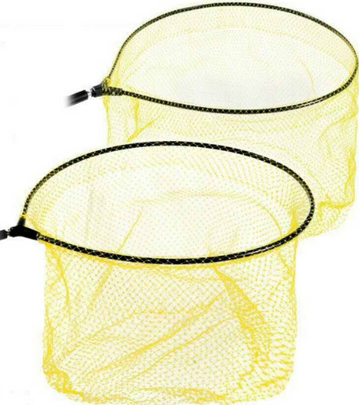 MATCH FLOU YELLOW NET HEAD(SILVERS)