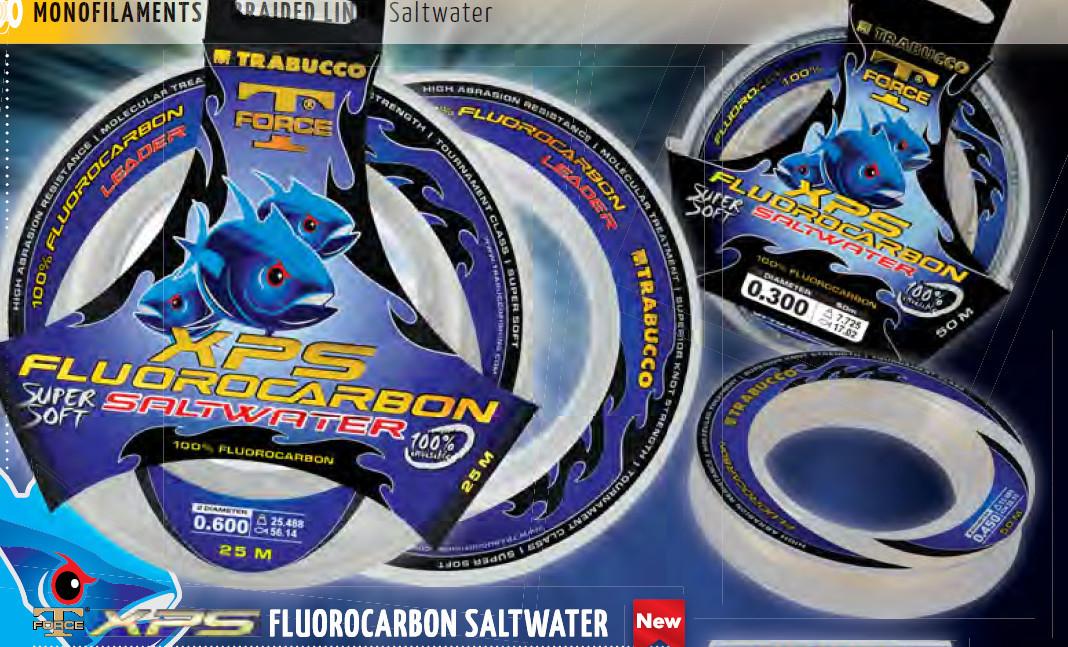 T FORCE XPS FLOUROCARBON SALT WATER LEADER 00099
