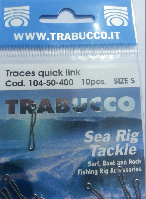 TRABUCCO quick links for traces 10 per pack 00108