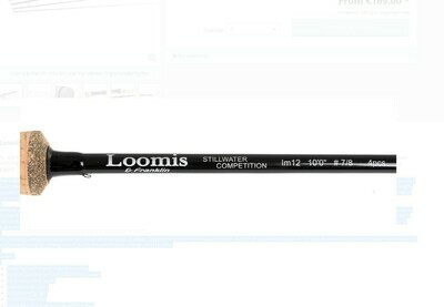 Loomis and Franklin Specialist Competition Boat rods long cast IM12
