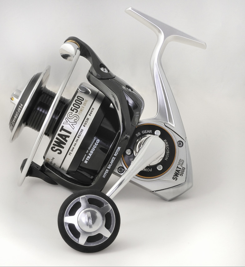 SWAT.  new for 2014, A big game spinning reel for everyone to use!  5 sizes 00152