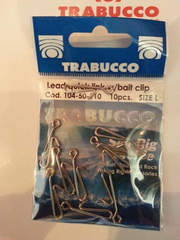 lead quick link bait clip