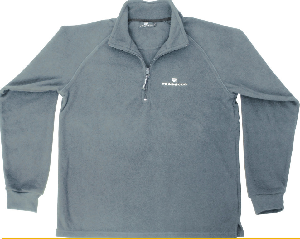 MICRO FLEECE GNT  grey colour now with new red  competition logo 00166