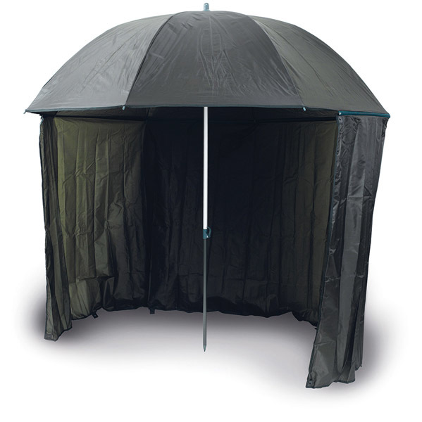 Umbrella with side cover  250 dpu   2.5m  half tent 00236