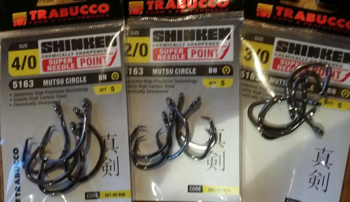 Circle hooks shinken Metsu circle   5 per pack