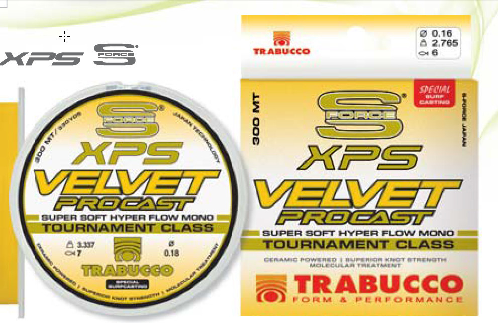 xps PRO VELVET SURF CASTING LINE FOR COMPETITIONS  NEW 2015 300m and 600m available 00314