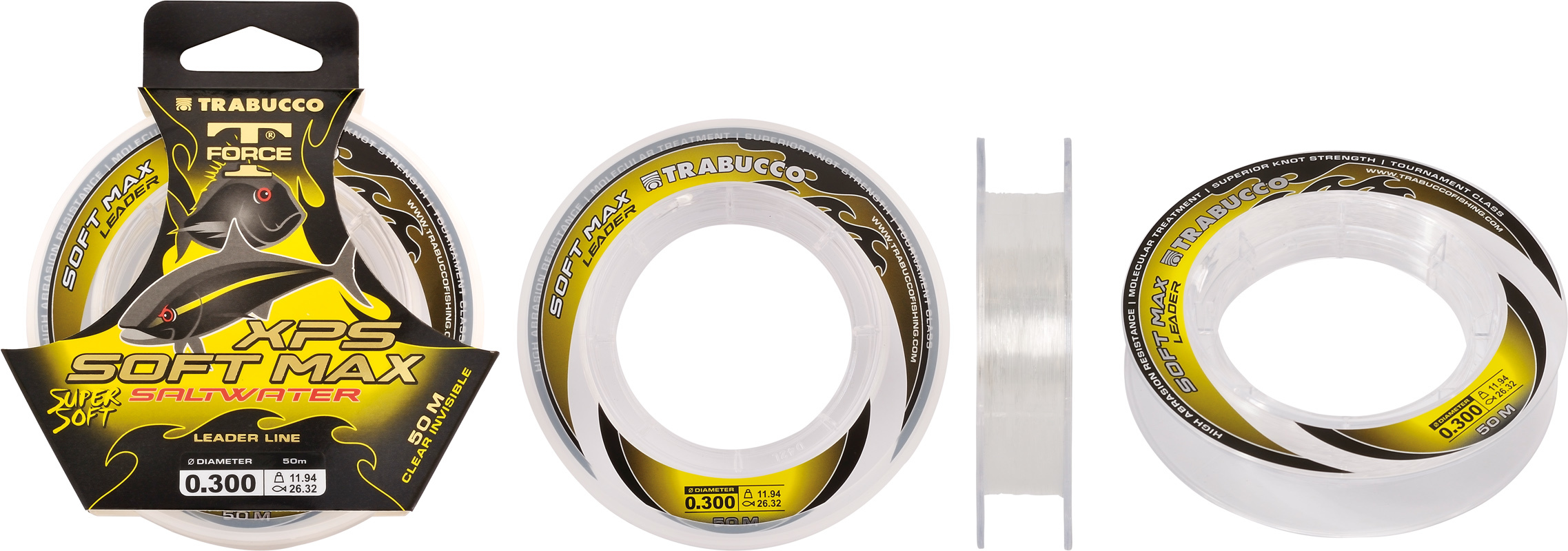 XPS Soft Max Leader  50m spools  for rig bodies , leader line  and traces  sale price 00317