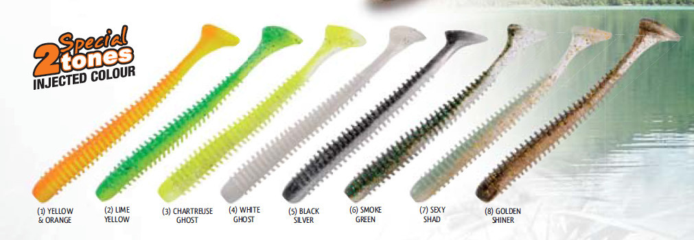 Rib Slim Shady shad 2 inch and 3 inch   12 per pack and 14 per pack