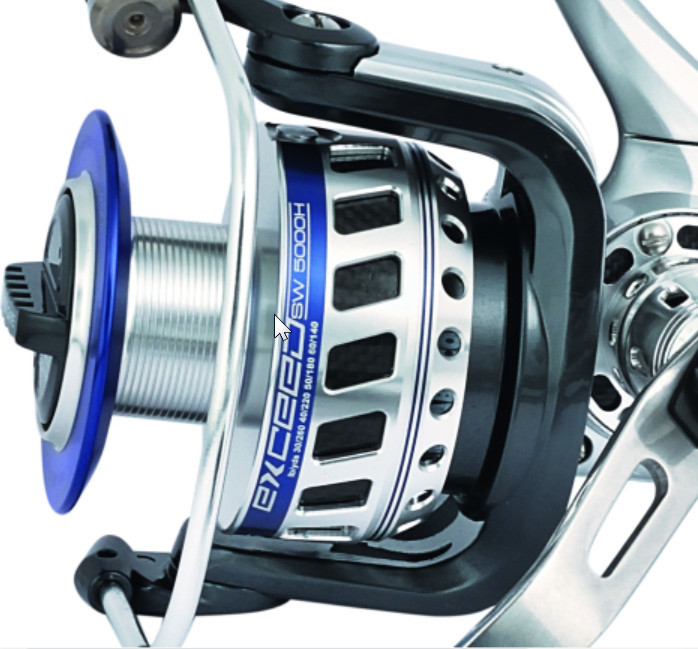 Trabucco exceed 5500H 20kg drag  330m PE 3  heavy duty spinning reel 00335