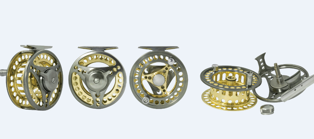 Guidemaster fly reels AMC  4 sizes available 00345