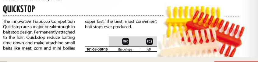 Quick stops  60 per pack 00350
