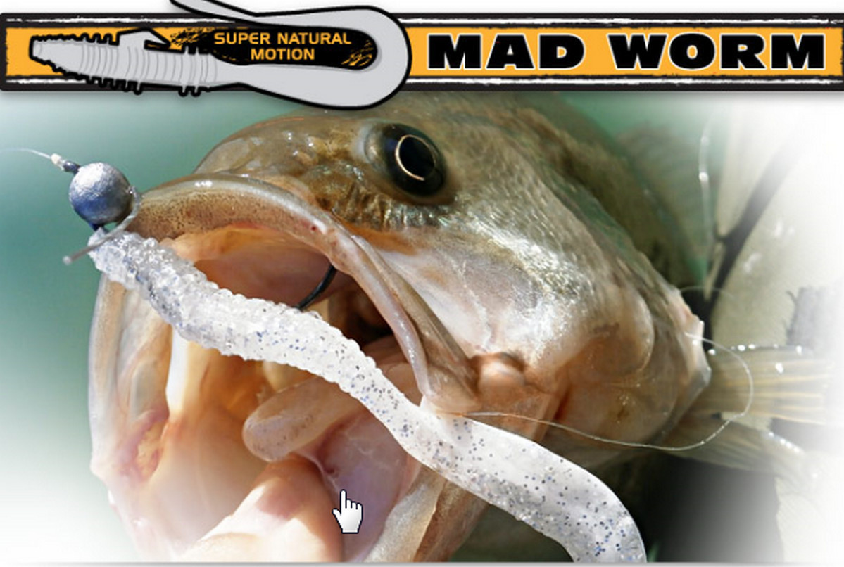 Mad worm 4 inch 00358
