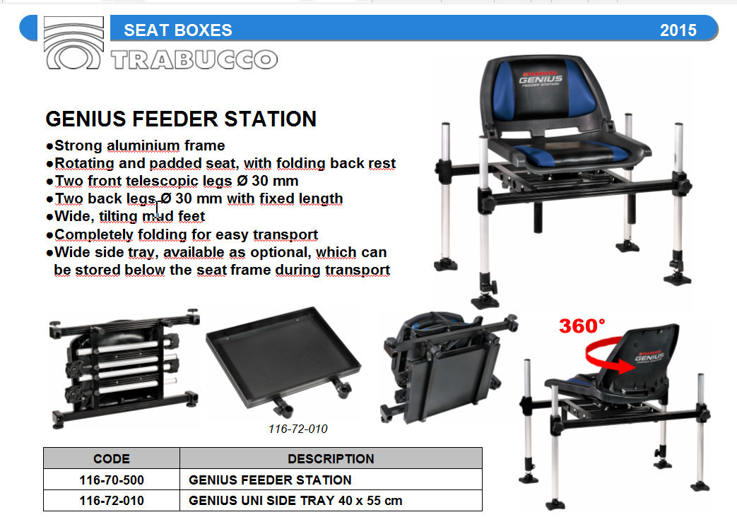 Genius Feeder Station available to order 00378