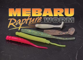 MERABU WORM LRF SOFT PLASTIC LURES    6 variants £2.99 pack for 12