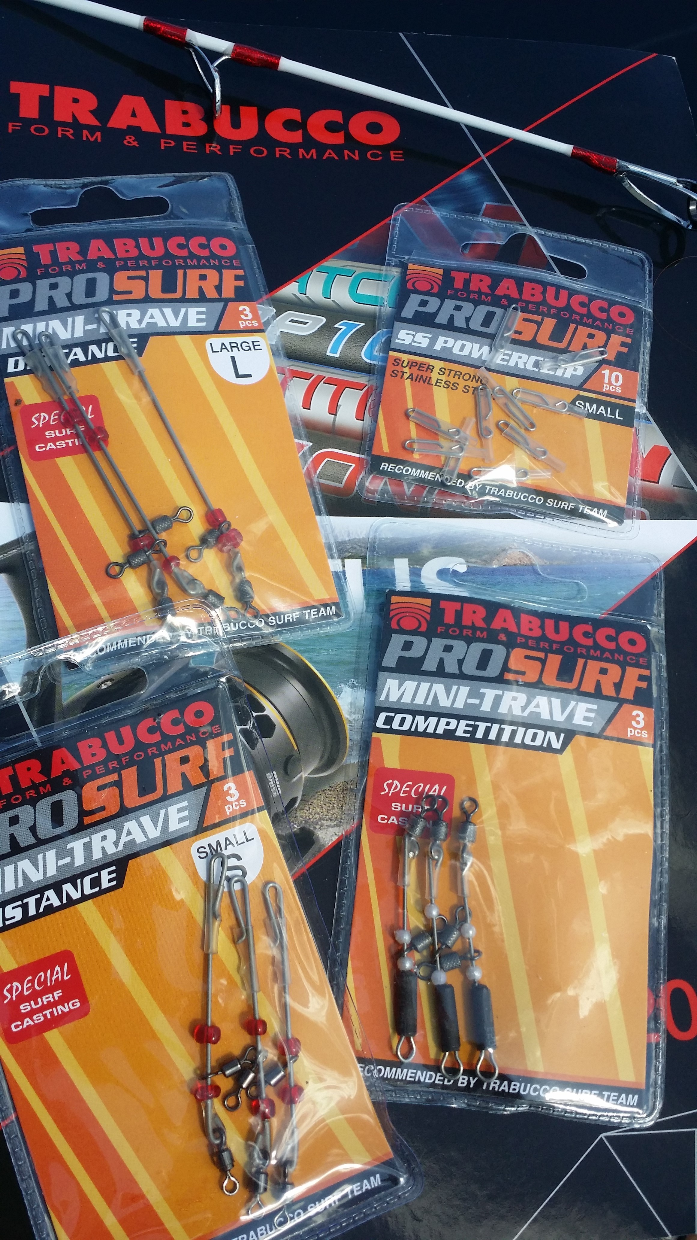 Surf casting long distance casting booms for long traces  URFE rig New 2016 00417