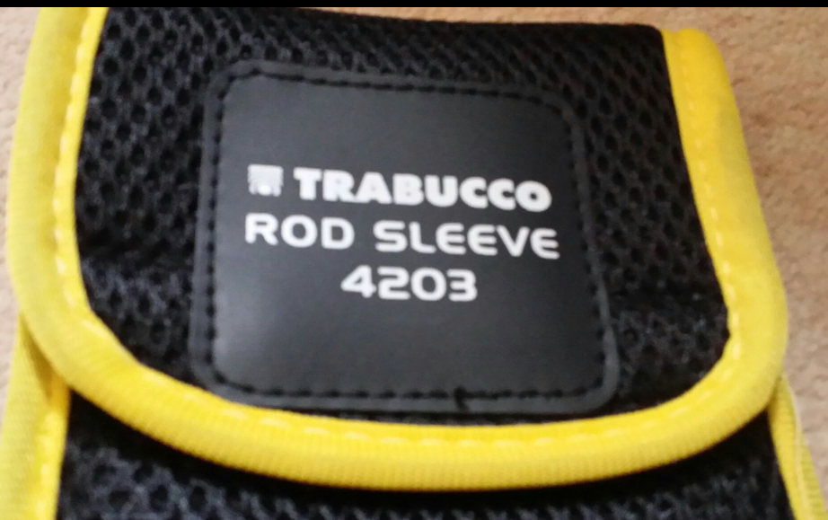 Trabucco 4.5 and 4.2 m rod sleeves.  4.2 on special spring offer  less 50% 00424